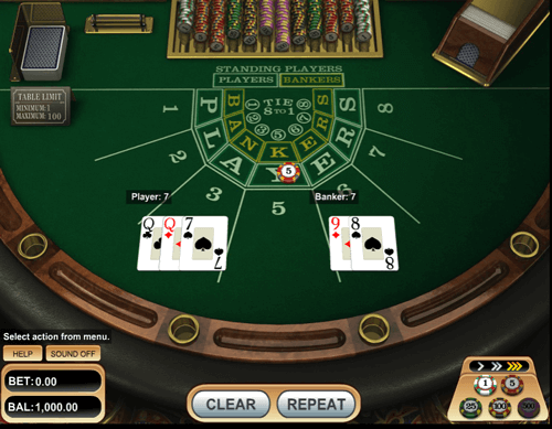 play baccarat