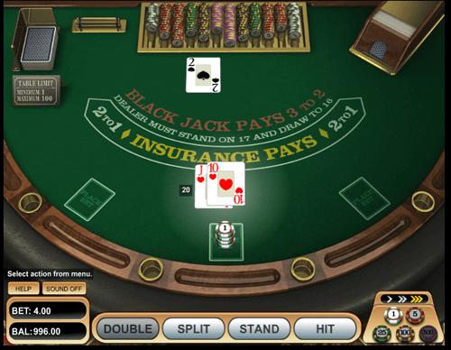 play blackjack