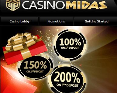 Midas south africa online casinos